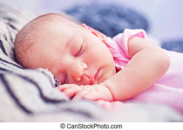 baby girl - sleeping baby