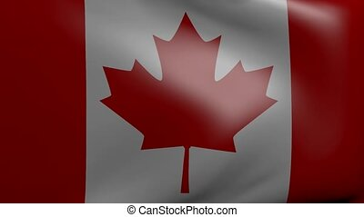 canada strong wind flag