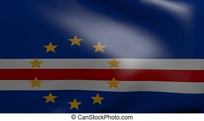 cape verde strong wind flag