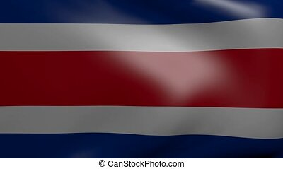 costa rica strong wind flag