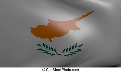 cyprus strong wind flag