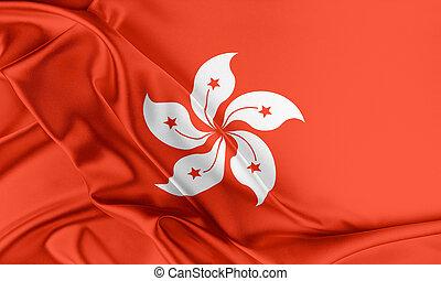 Hong Kong Flag.