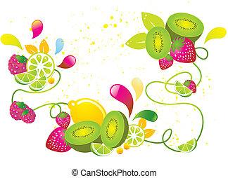 kiwi, fruta