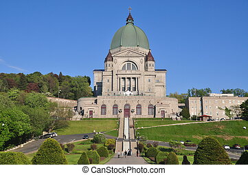 Saint Joseph's Oratory on Mount Royal in Montreal, Quebec....
