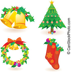 christmas pattern - the Christmas pattern background