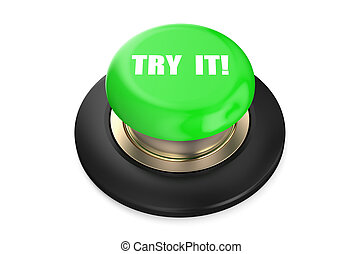 Try It green push button
