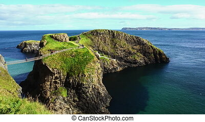 Carrick-a-Rede Rope Bridge - An Amazing Time-Lapse Video Of...