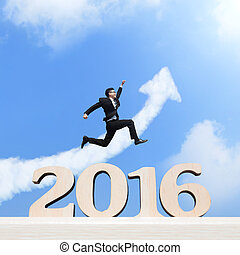 Happy New Year - Happy new year for 2016 - success business...