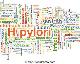 H.pylori, Plano de fondo, concepto,