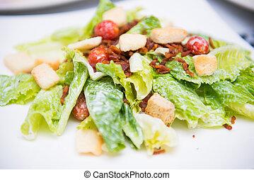 caesar salad menu for health, food