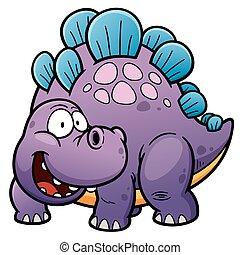 Dinosaur - Vector illustration of Dinosaurs cartoon