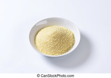Finely ground breadcrumbs - Pile of finely ground bread...