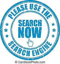 Use the search engine stamp