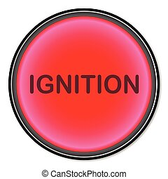 Ignition Button - A ignition button as may be found on high...