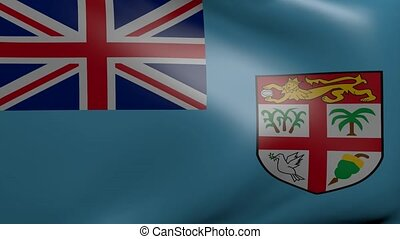 fiji strong wind flag