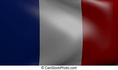 france strong wind flag