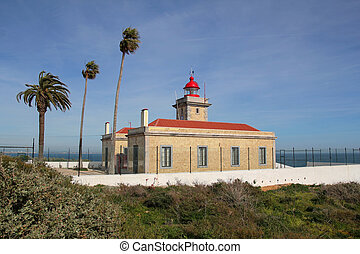 lighthouse in Lagos, Algarve, Portugal