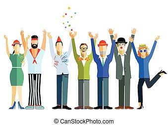 Feier.eps - joyous celebration
