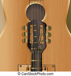 background acoustic guitar