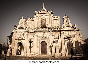 Cathedral at city Rabat, Malta