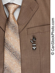 Mens business wear, as a background