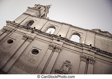 Church in Mdina, Malta