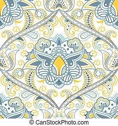 Seamless Floral Pattern - Illustration of abstract seamless...