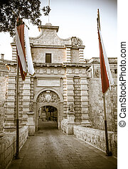Mdina, Malta - Historical town Mdina, Malta