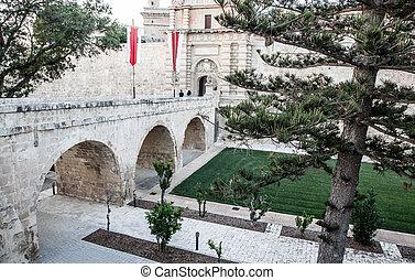 Historical town Mdina, Malta