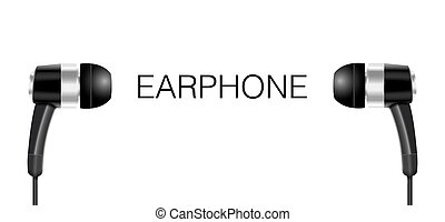 Earphone Vector Stock