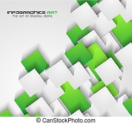 Abtract cubes background for brochures and flyers design....