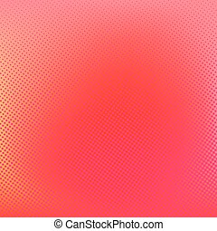 Halftone background. Red creative vector illustration