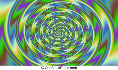 Colorful spiral 4k HD Footage