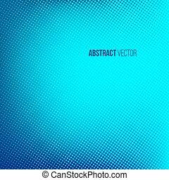 Halftone background. Blue color