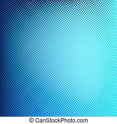 Abstract spotted halftone backgroun - Blue abstract halftone...