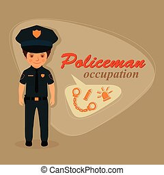 police officer, policeman