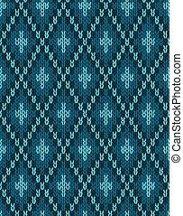 Seamless Knitwear Textile Pattern