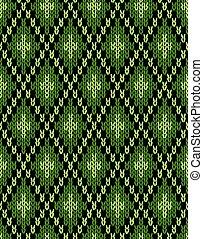 Seamless knitwear pattern