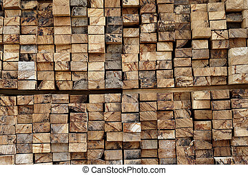 stump stack as background or texture