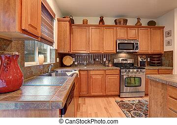 Brilliant kitchen with simplistic decor. - Brilliant kitchen...