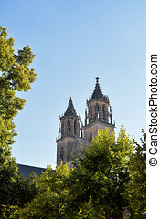 The Magdeburg Cathedral - symbol of the city of Magdeburg
