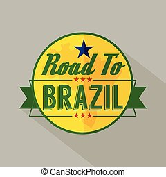 Road to Brazil Label.