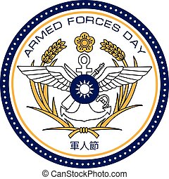 Armed Forces Day China - Symbol Armed Forces Day, China, as...