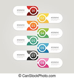 Infographics design options template banner. vector...