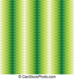 Seamless Interlocking Sawtooth Pattern - Green