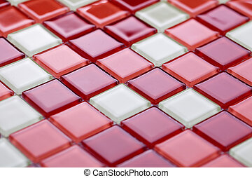 Colorful mosaic tiles - photo shot of colorful mosaic tiles
