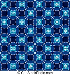 Vector - Seamless Festive Christmas Gift Wrapping Paper Pattern Texture Wallpaper