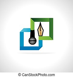 media concept vector illustration