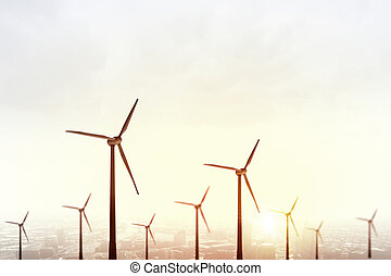 Alternative wind energy
