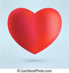 Heart  St. valentine's day.